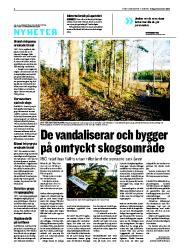 Skogsvandalism